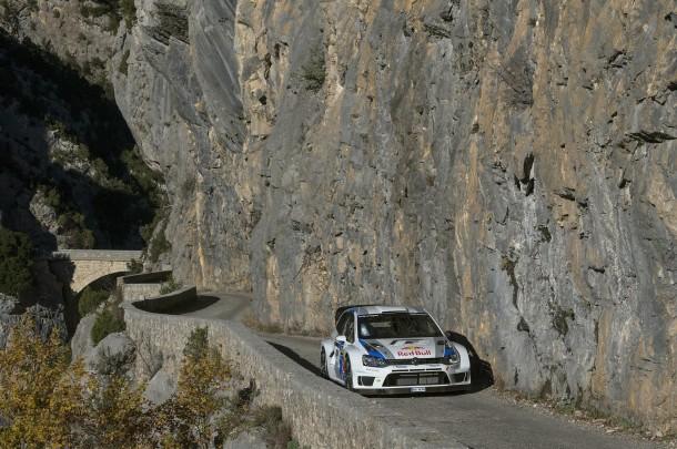 Volkswagen Polo R WRC Aiglun Canyon