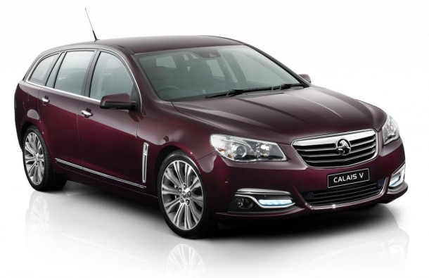 2013 Holden Commodore Calais V Sportwagon (1)