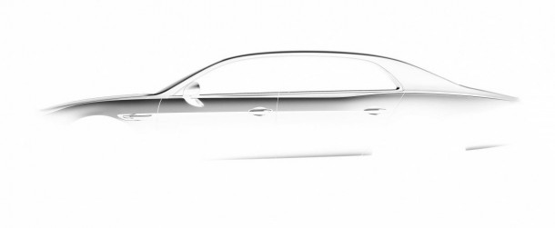 2014 Bentley Continental Flying Spur teased