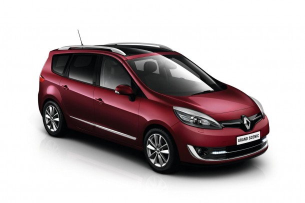 2013 Renault Scenic and Grand Scenic facelift