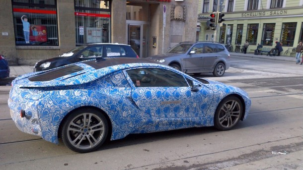 BMW i8 Spy Photo (1)