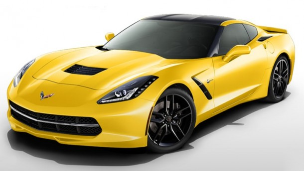 Chevrolet Corvette Stingray configurator