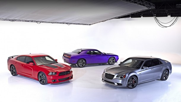 Dodge Charger SRT8 Super Bee, Chrysler 300 SRT8 Core Edition and Dodge Challenger SRT8 Core Edition
