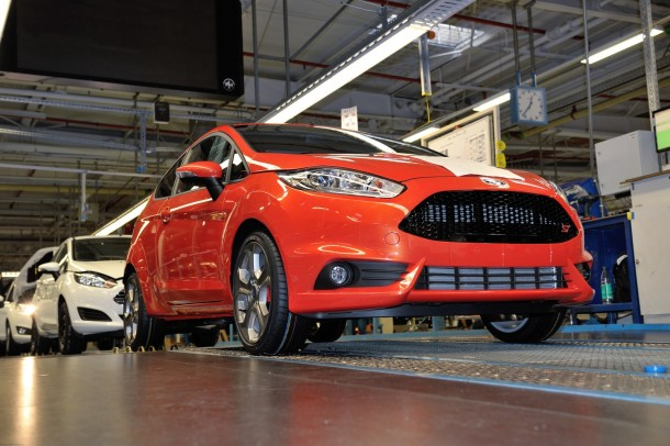 Ford Fiesta ST Begins Production