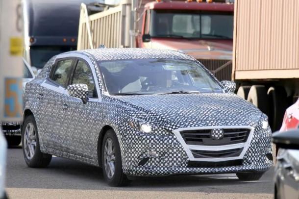 Mazda 3 2014 Spy Photos (1)