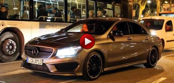 Mercedes-Benz CLA barcelona