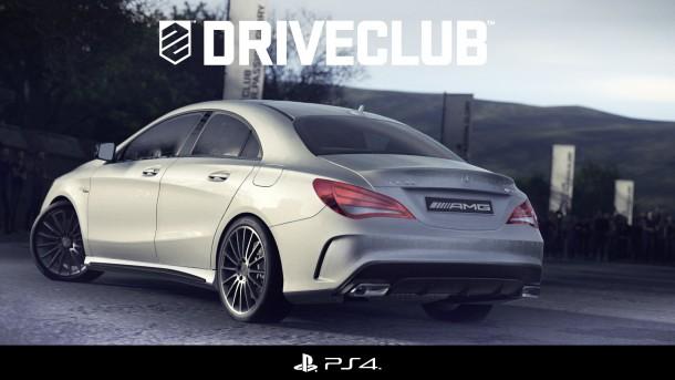 CLA 45 AMG im neuen Rennspiel Driveclub™