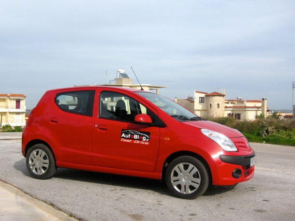 Nissan Pixo Test Drive (5)