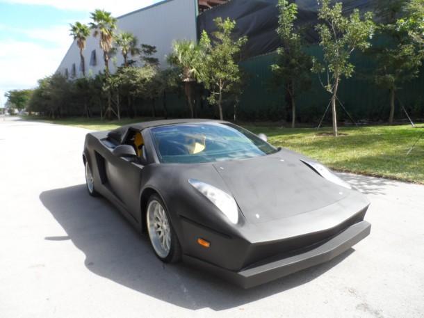 Overkill Lamborghini Gallardo replica