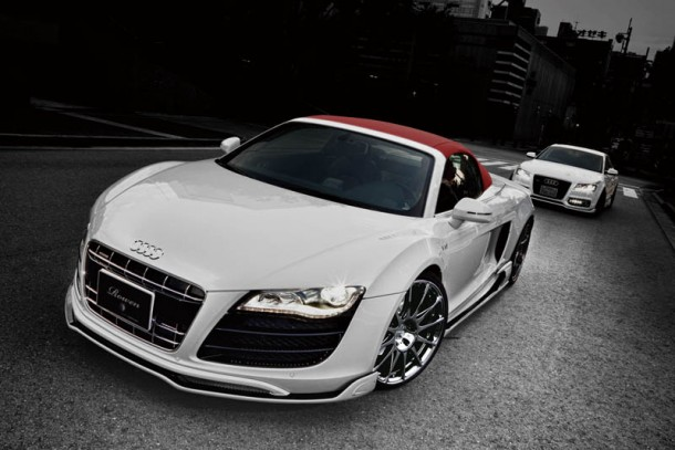 Audi R8 Spyder White Wolf Edition by Tommykaira