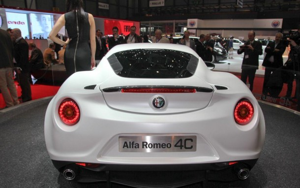 Alfa Romeo 4C Launch Edition Live in Geneva 2013 (15)