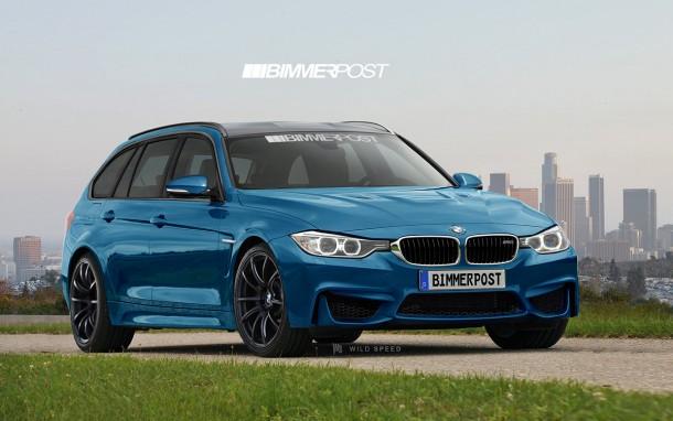 BMW M3 Touring F81 Rednering (3)
