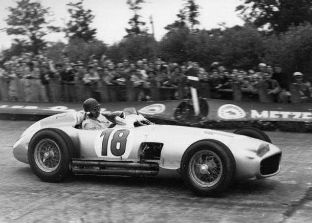 Fangio Mercedes race car 2
