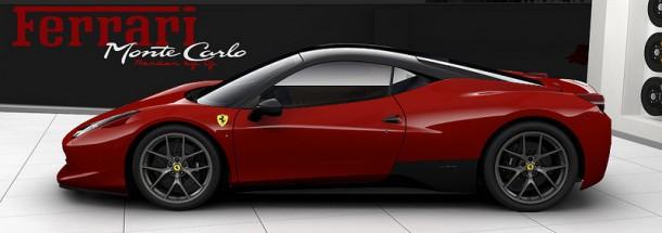 Ferrari 458 Monte Carlo rendering