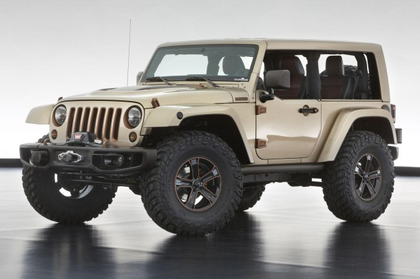 Jeep six concepts for Easter Jeep Safari 2013 (2)