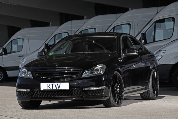 Mercedes C63 AMG Coupe by KTW