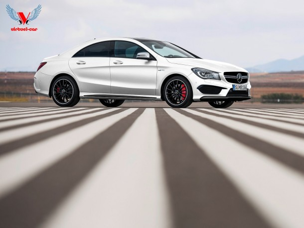 Mercedes-Benz CLA 45 AMG [Rendering]