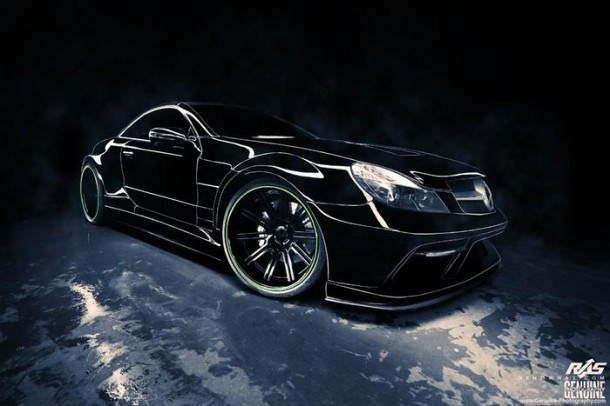 Mercedes-Benz SL (R230) by Renown Auto Style (1)
