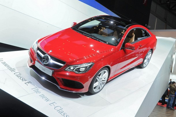 Mercedes E-Class Facelift Family Live in Geneva 2013 (10)