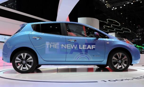 Nissan Leaf Euro-spec 2013 Live in Geneva 2013 (2)