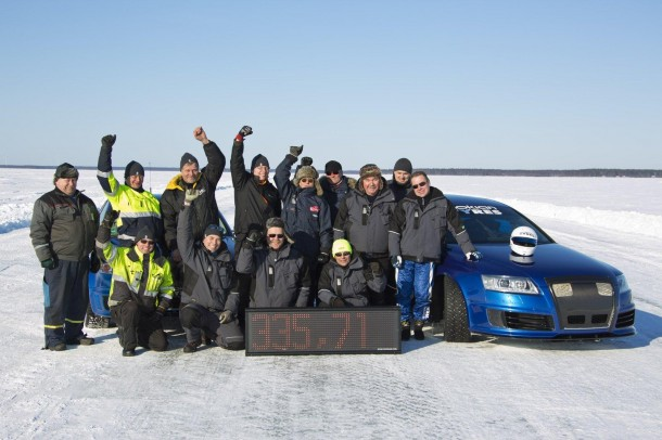 Nokian Ice Speed Record 37