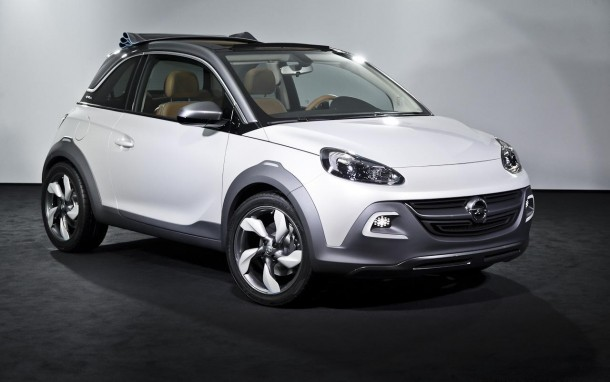 Opel Adam Rocks Concept Live in Geneva 2013 (2)