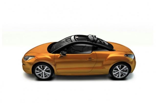 Peugeot RCZ Magna Steyr View Top (1)