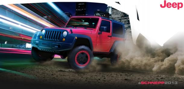Jeep Wrangler Slim concept