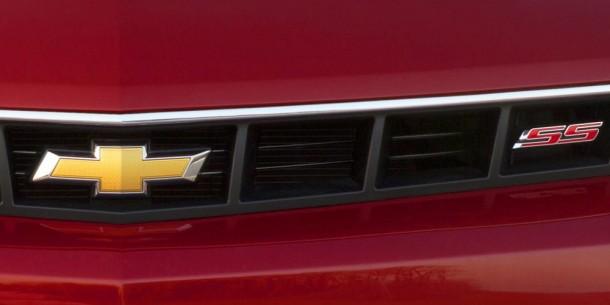 Teaser Photo Chevrolet Camaro SS 2014