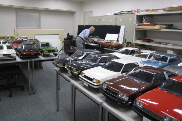 Toyota Scale Models (4)