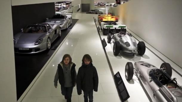 kids porsche museum
