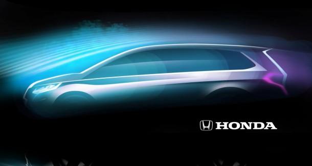 Honda Concept teaser for Shanghai auto show 2013