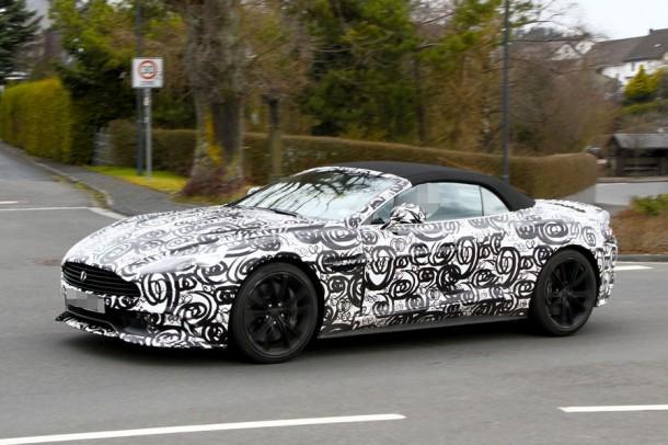 Aston Martin Vanquish Volante Spy Photos (2)
