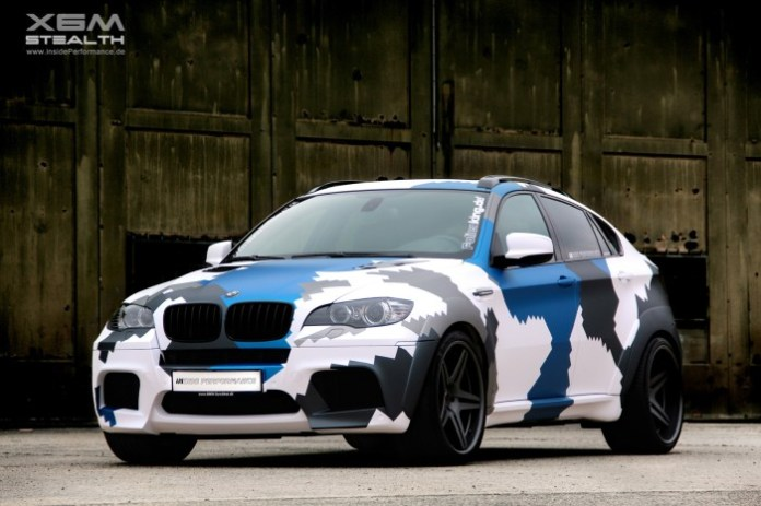 BMW X6 M Stealth insidePerformance