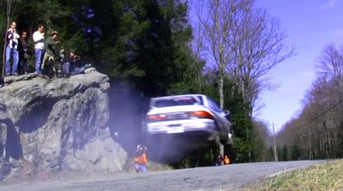 Big Rally Car Jump