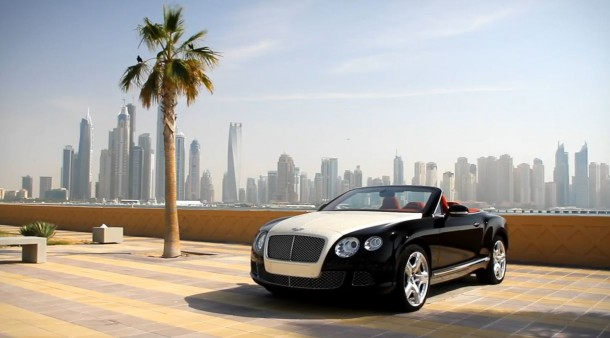 Diamond Bentley Continental GTC