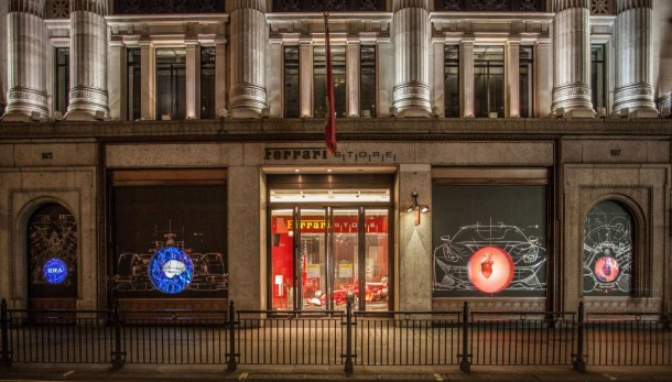 Heart of Ferrari display in London (1)