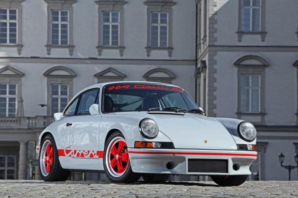 Porsche 911 (966) with 1973 911 RS 2.7 conversion kit