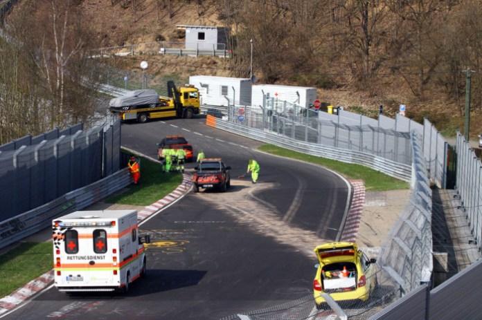 Range Rover Sport crashed in Nurburgring (1)