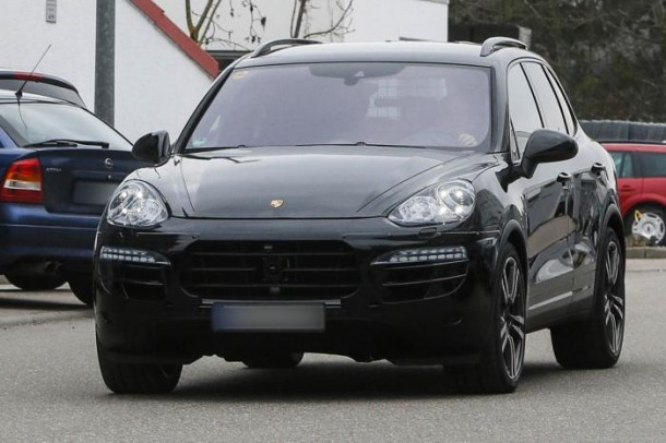 Spy Photos Porsche Cayenne facelift 2015 (2)