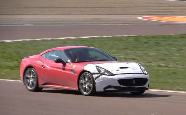 TWIN TURBO Ferrari California Prototype Sound!
