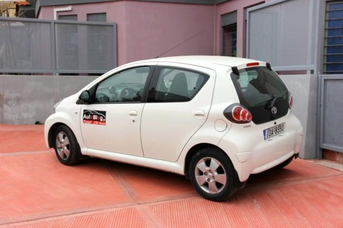 Test Drive: Toyota Aygo Auto - 05