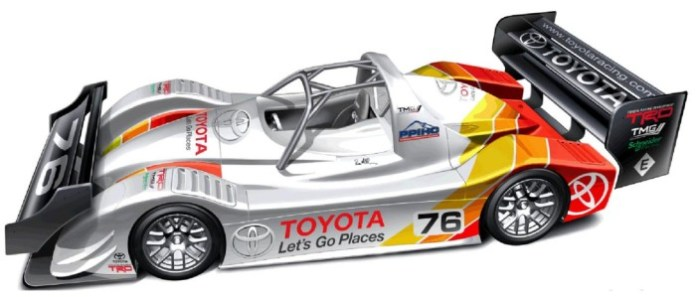 2013 Toyota Motorsport GmbH (TMG) EV P002 for Pikes Peak