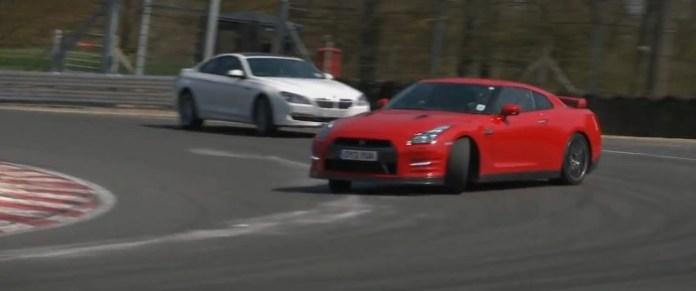 2013 Nissan GT-R vs Alpina B6