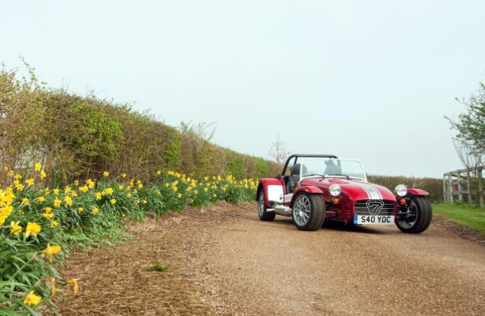 2013 Caterham Seven with Limited Edition pack