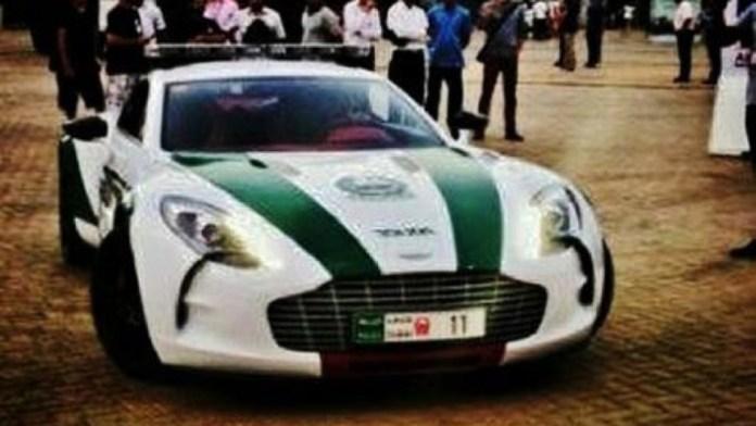 Aston Martin One-77 Dubai Police (1)