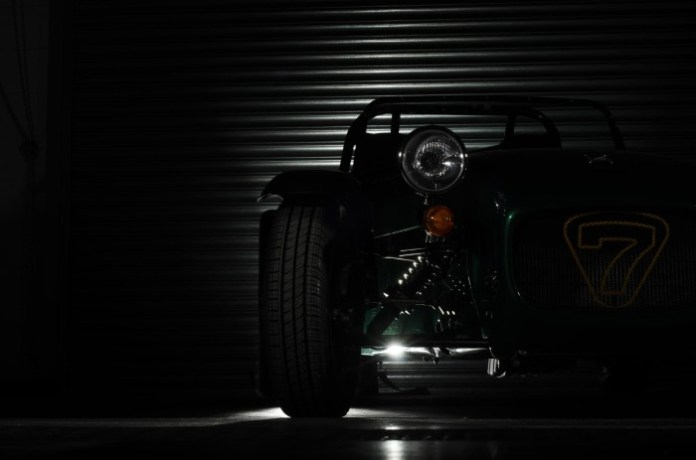 Caterham new Seven teaser