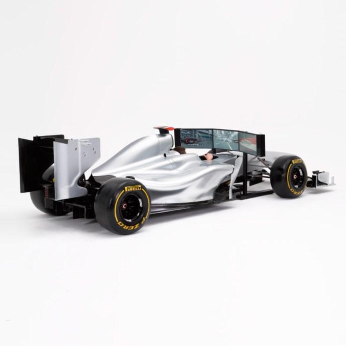 Costco Full Size Racing Car Simulator