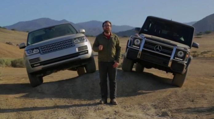 G63 AMG vs range rover