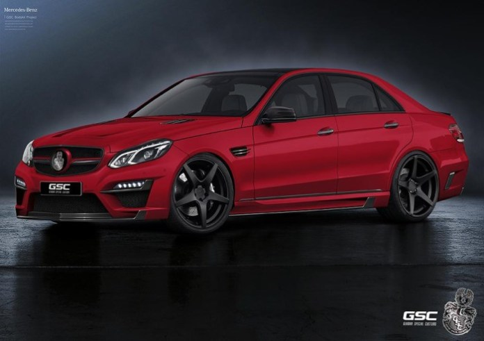 Mercedes E-Class facelift by German Special Customs (5)